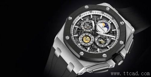 3. 爱彼皇家皇家橡树系列Audemars Piguet Royal Oak Offshore Grand Complication