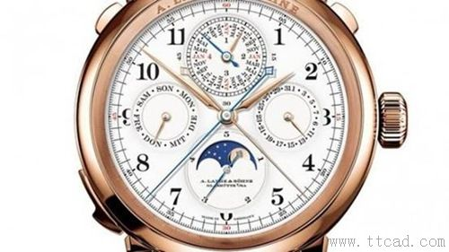 2. 朗格A. Lange & Sohne Grand Complication
